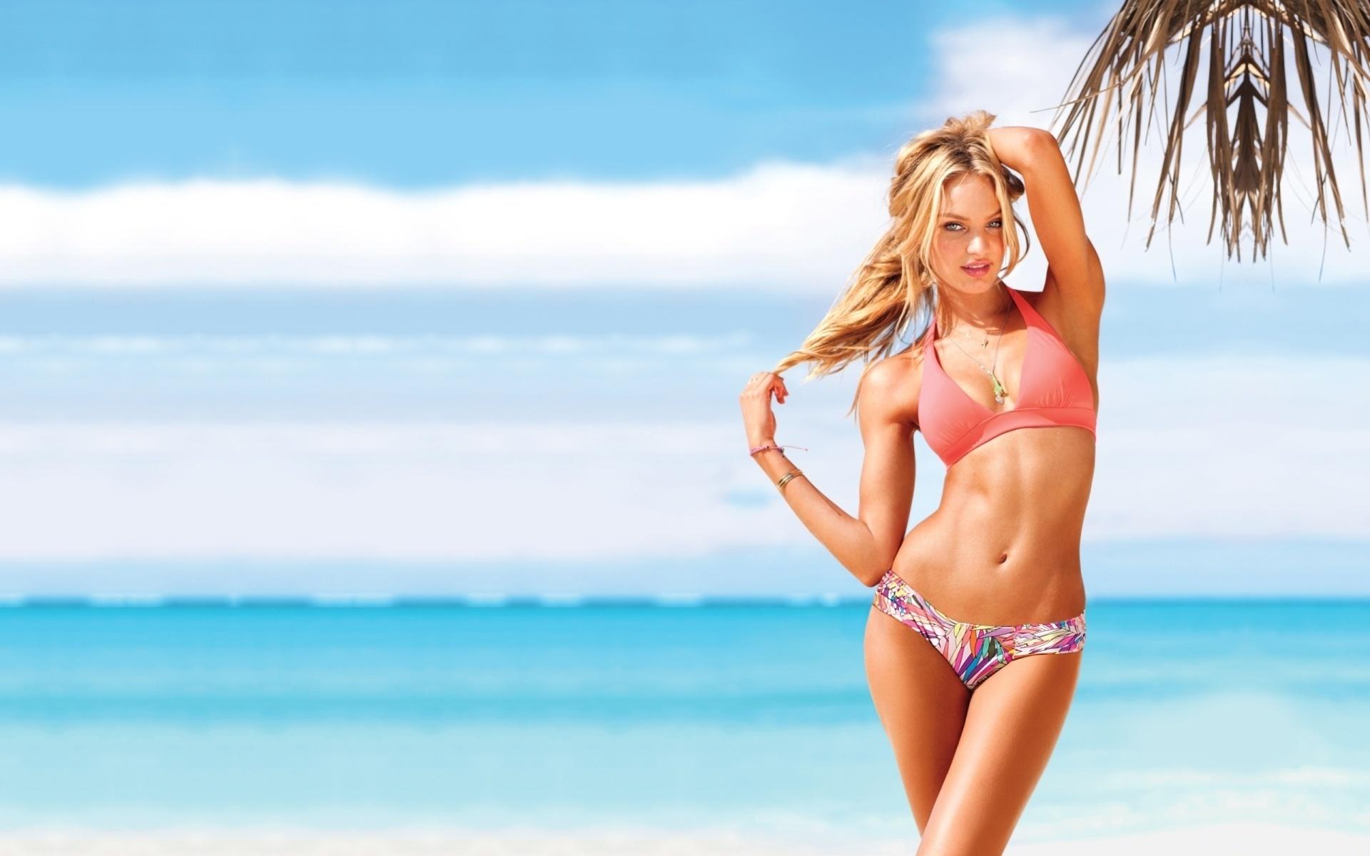 Кэндис свейнпол, девушка, красотка, candice swanepoel, модель