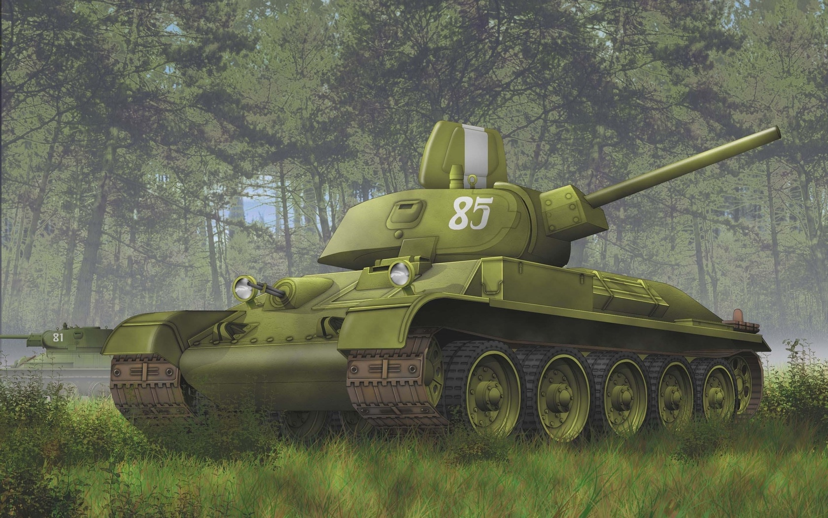 Красивые картинки с танками