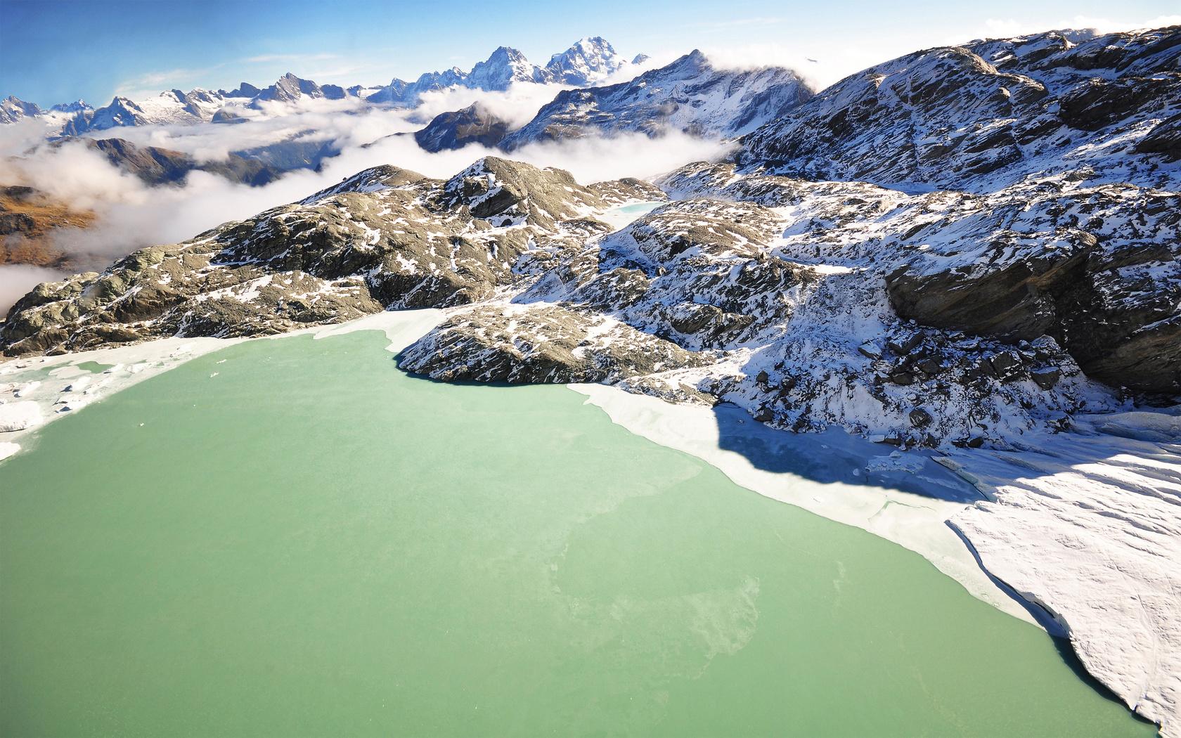 горы, Lake wakatipu, озеро, new zealand, новая зеландия