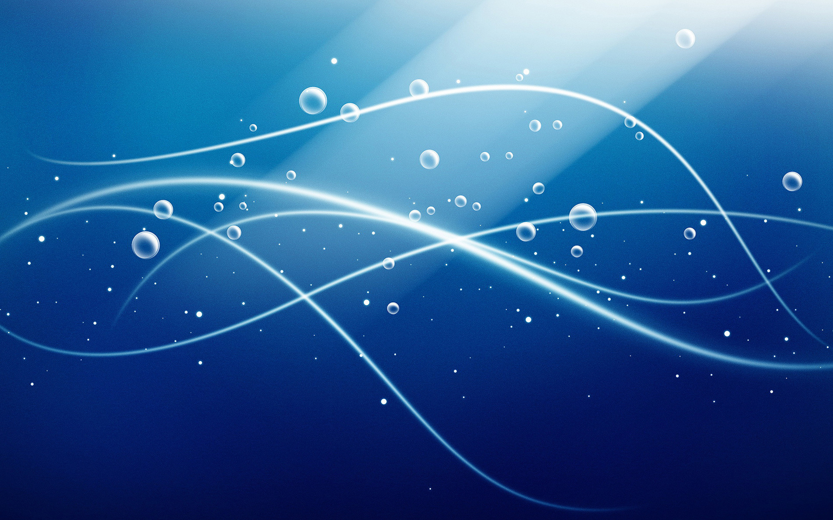 лучи, линии, Абстракция, пузыри, круги