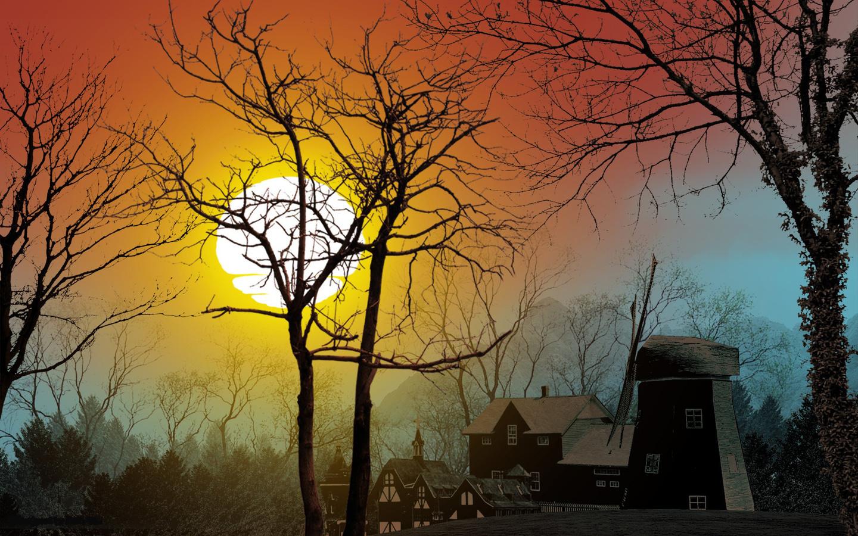 картинка дом любви и солнца тебе