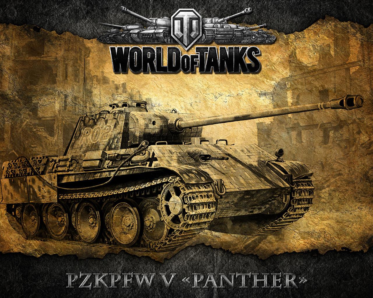wot, немецкий, танк, World of tanks, pzkpfw v panther, мир танков, world of tanks,