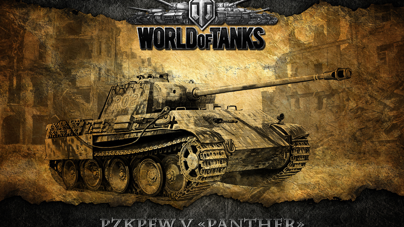 wot, немецкий, танк, World of tanks, pzkpfw v panther, мир танков, world of tanks,