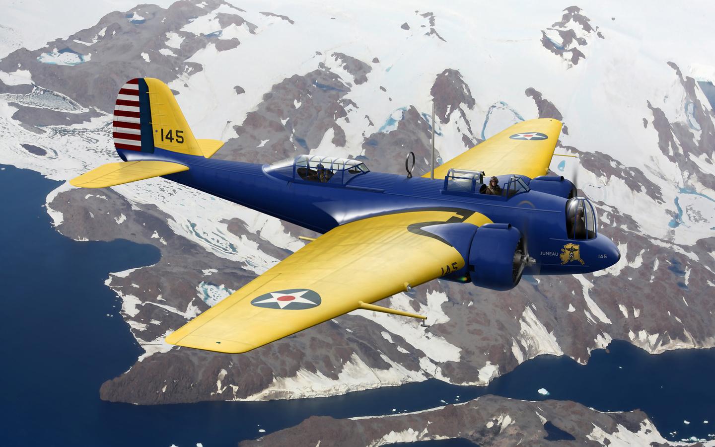 средний, b-10b, мартин, 139, martin, b-10b, Арт, 139, самолет