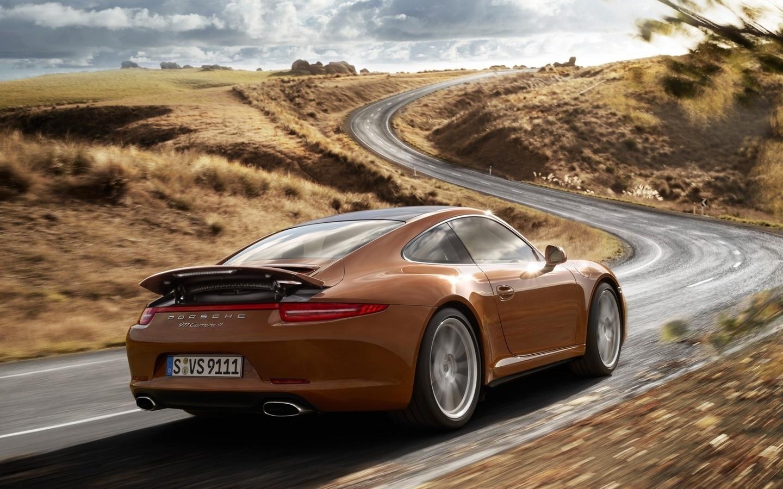 coupe, купе, Porsche, carrera 4, суперкар, 911, каррера, порше