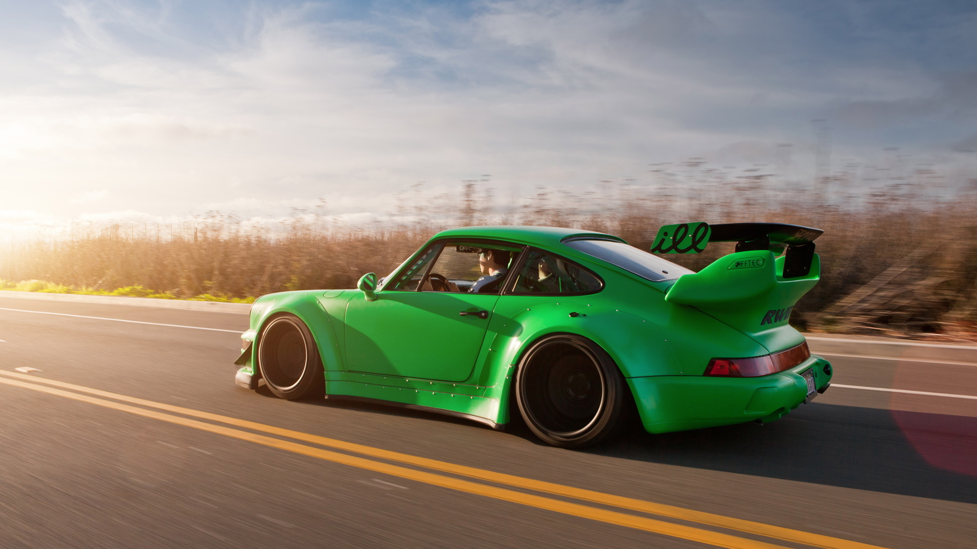 машина, дорога, автомобиль, спортивный тюнинг, 911, Porshe
