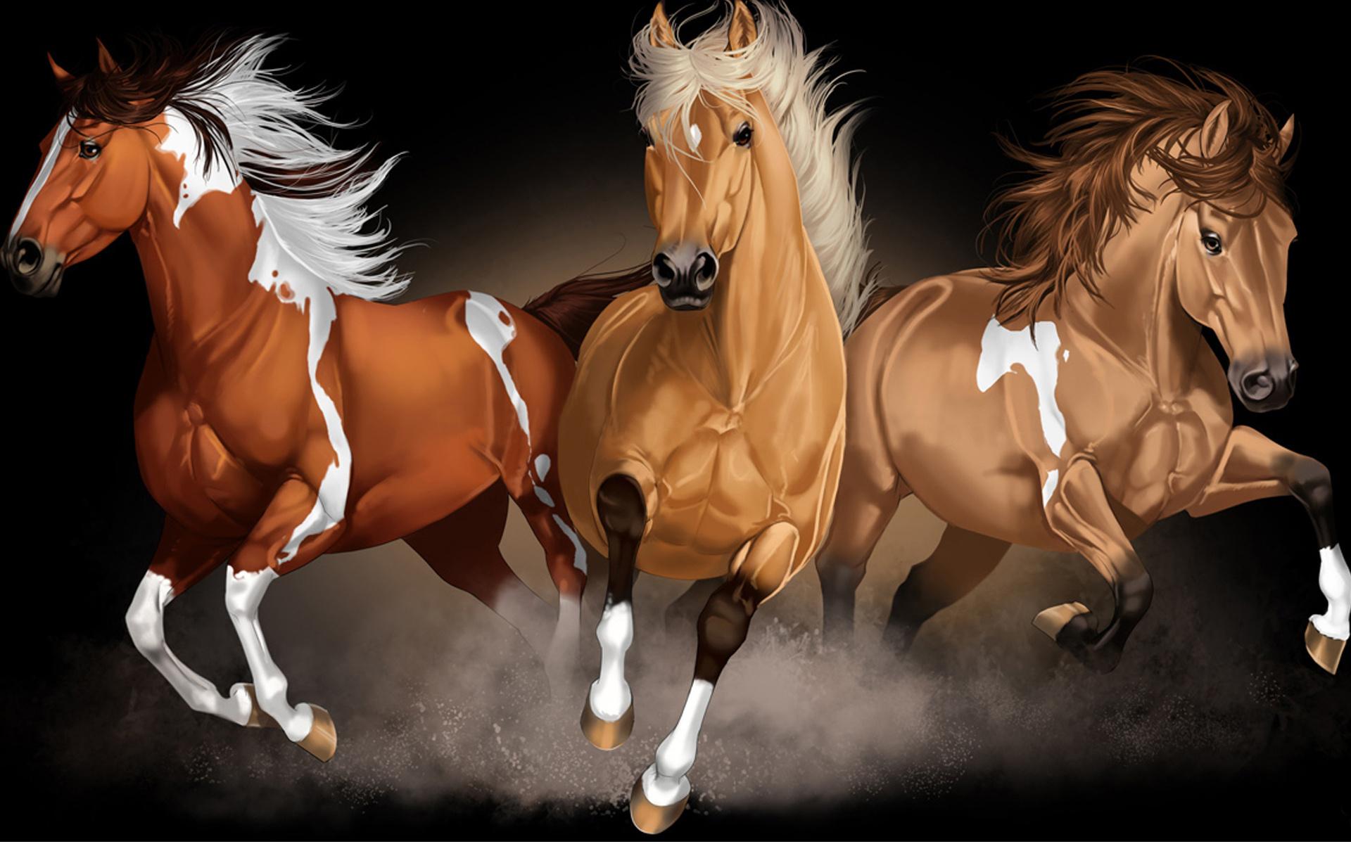 Классу, красивые открытки с лошадями