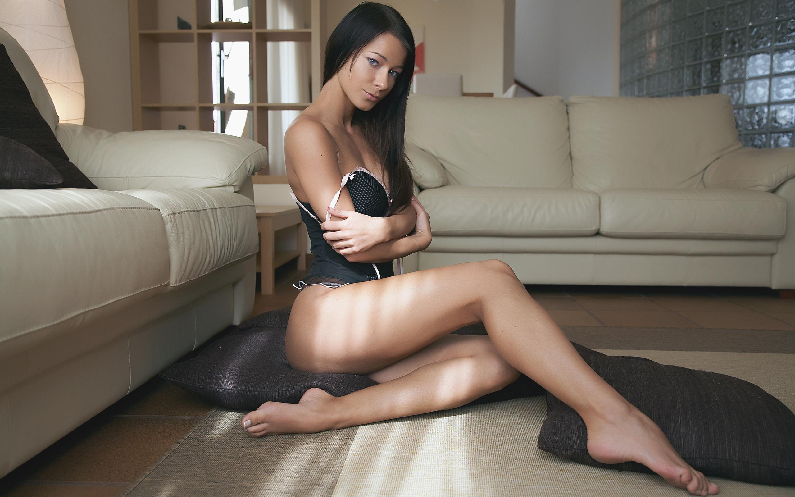 Секси ноги у девушки