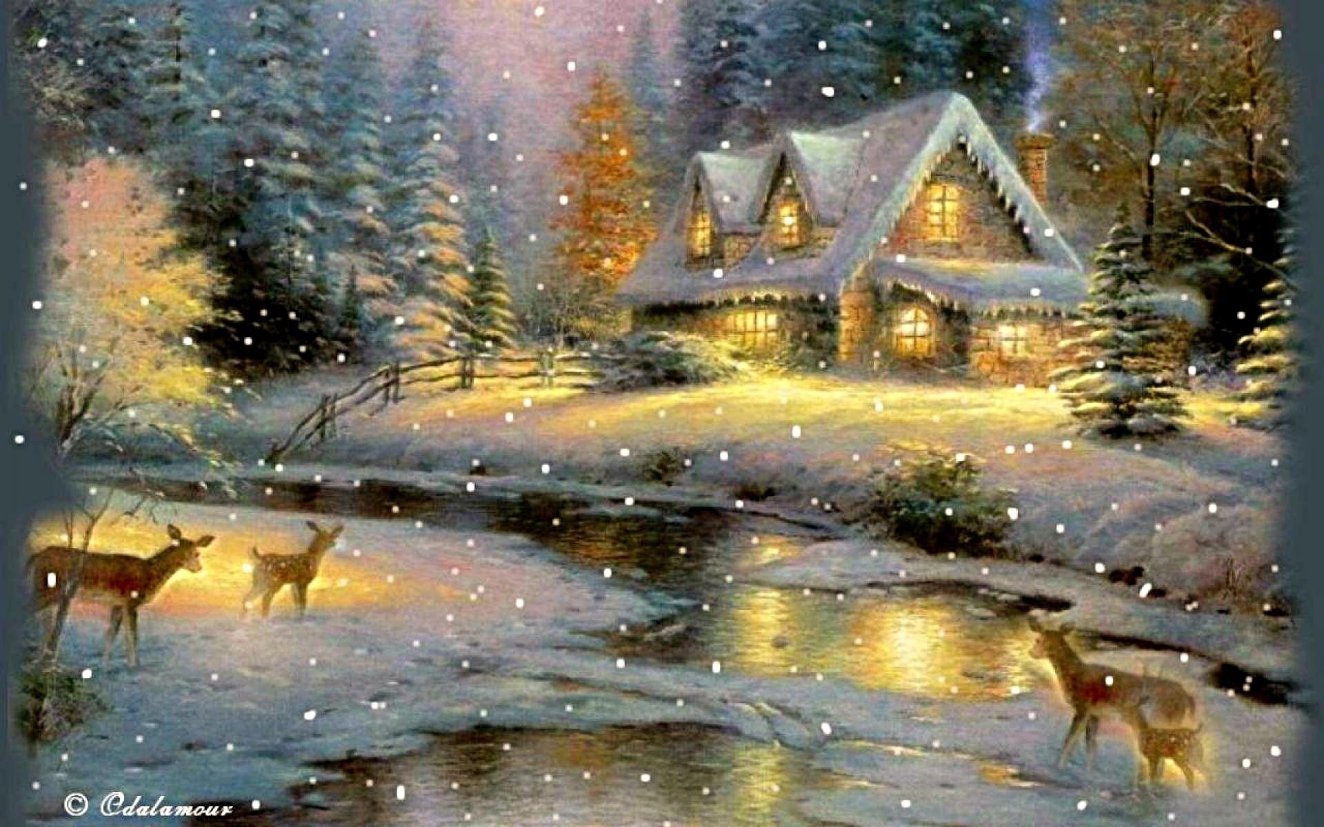 многим одинокая избушка в снегу анимация открытки собрал галерею
