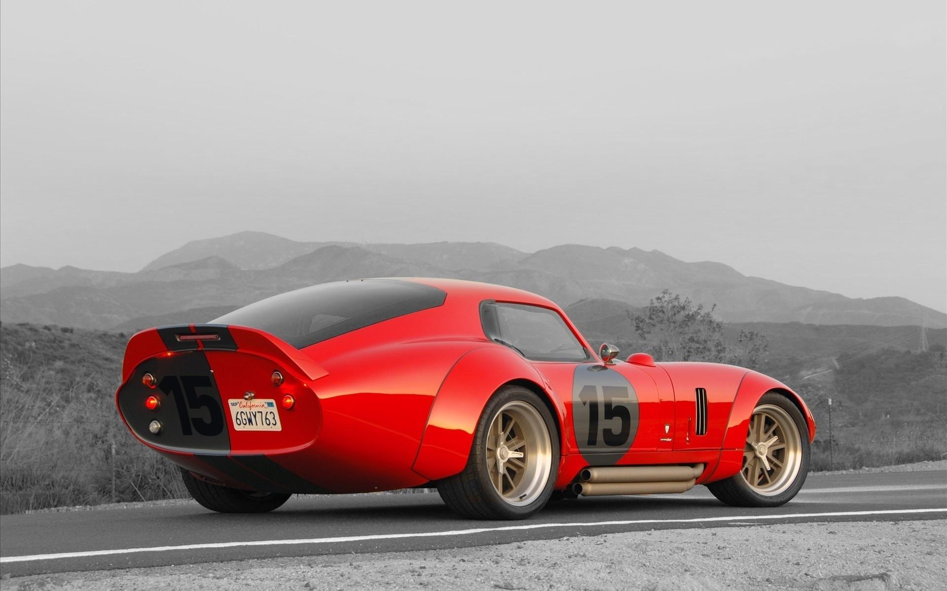 красная тачка, шелби дайтона, 15, мощная, форд