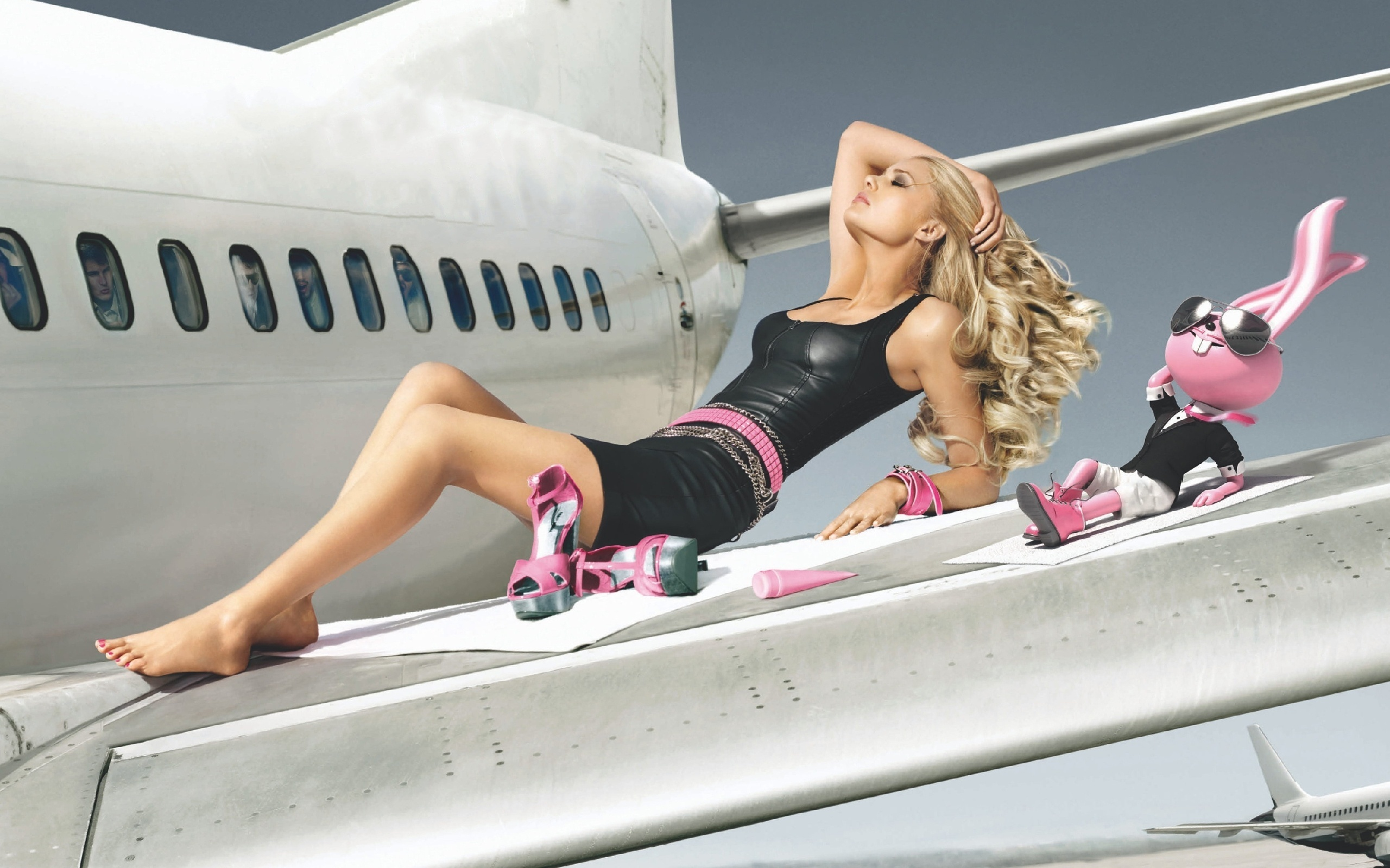 две девки в самолете - 9