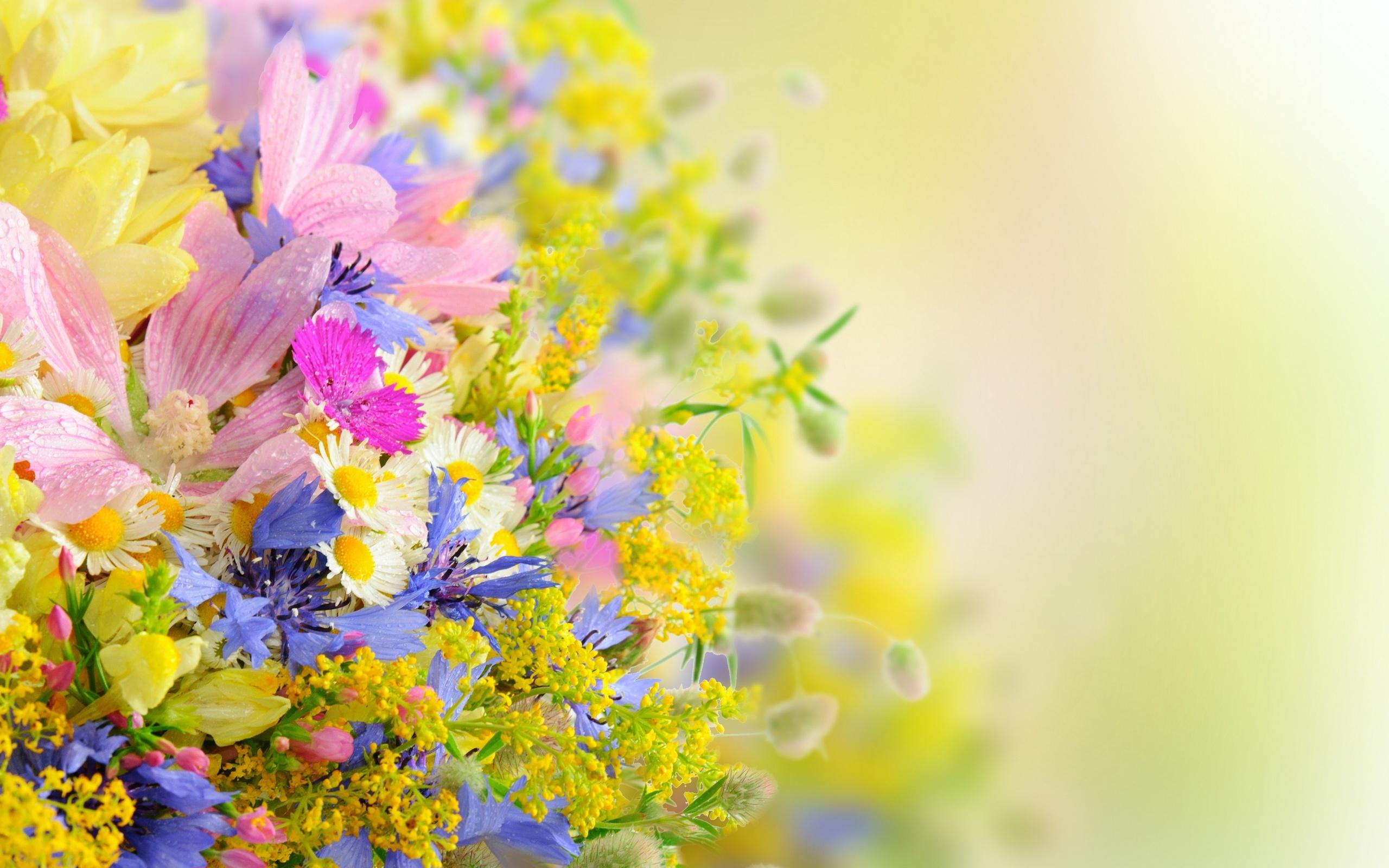 Новогодняя, открытка с днем рождения летние цветы