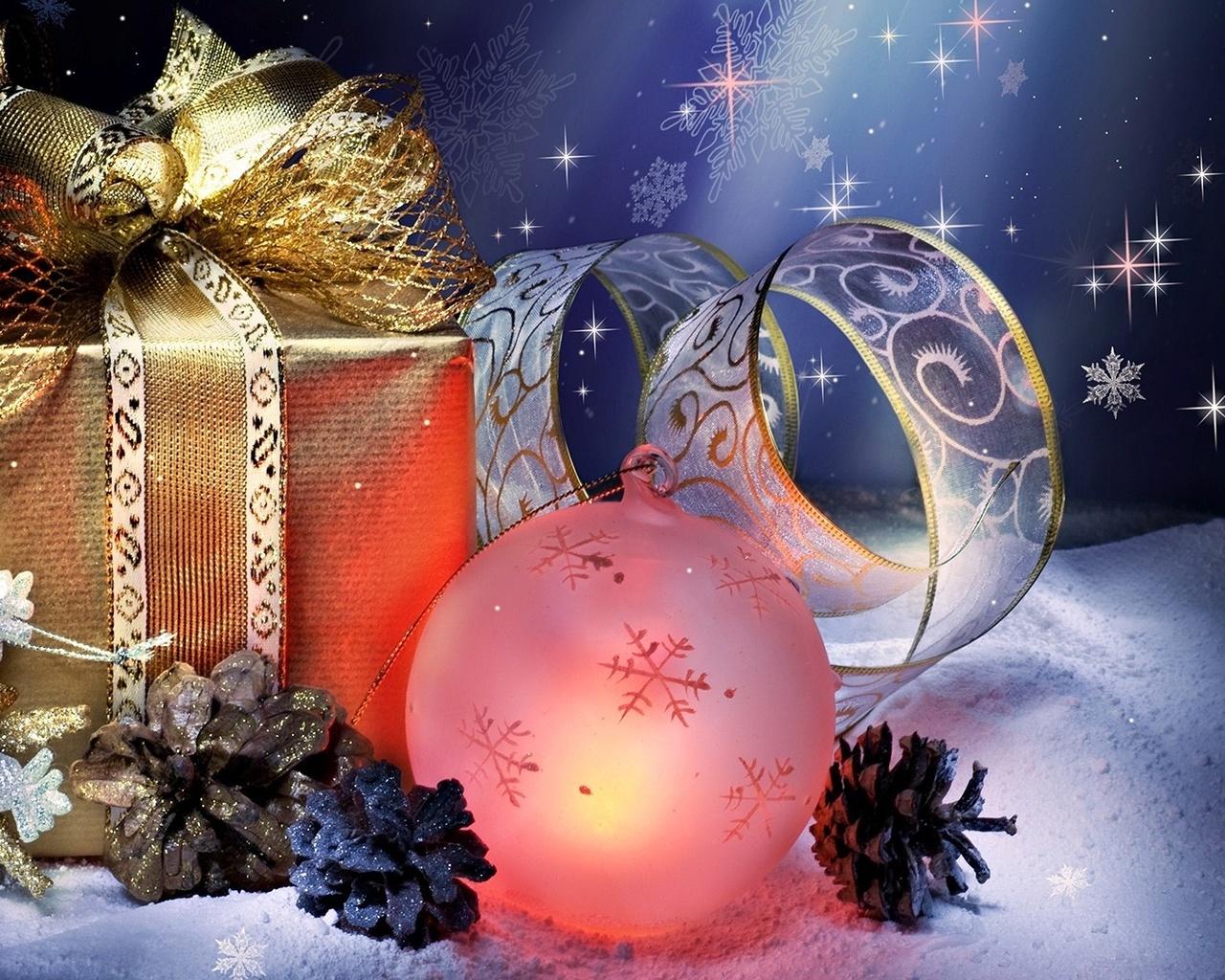 Программы с новогодними открытками