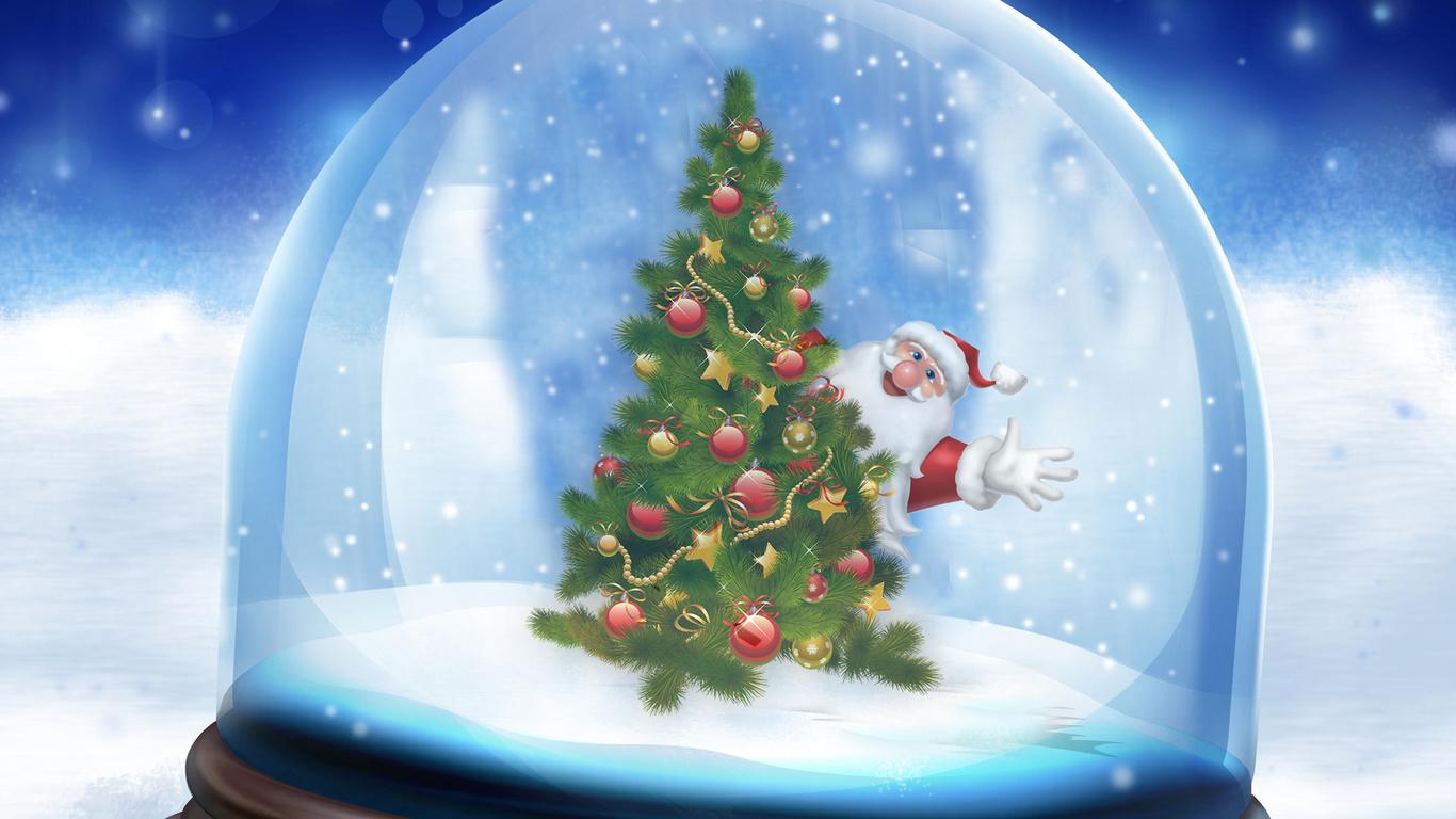 Приколы, новогодняя открытки с елкой