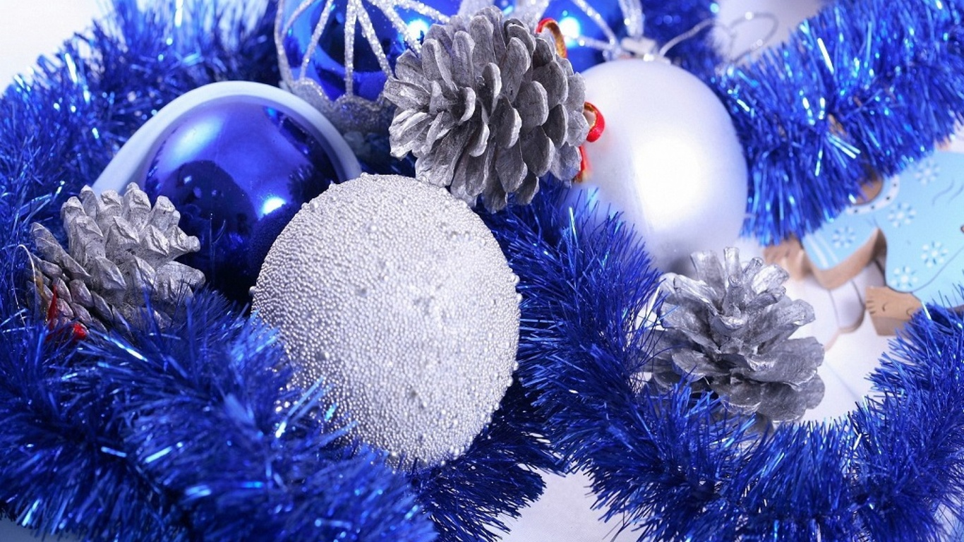 Картинки с новым годом в синем цвете, открытка спокойной