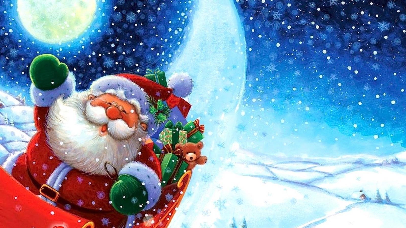 Картинки новый год дед мороз