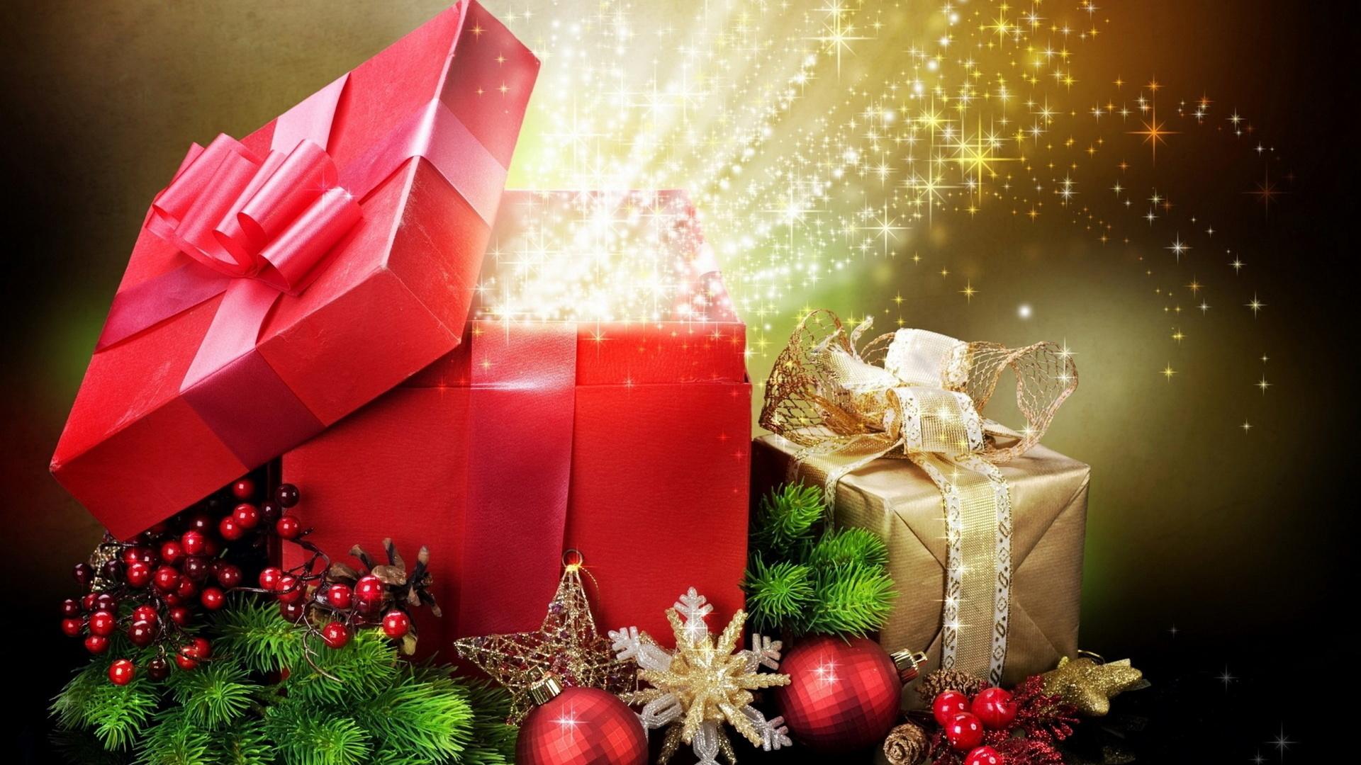 Рождению, открытка волшебный новый год