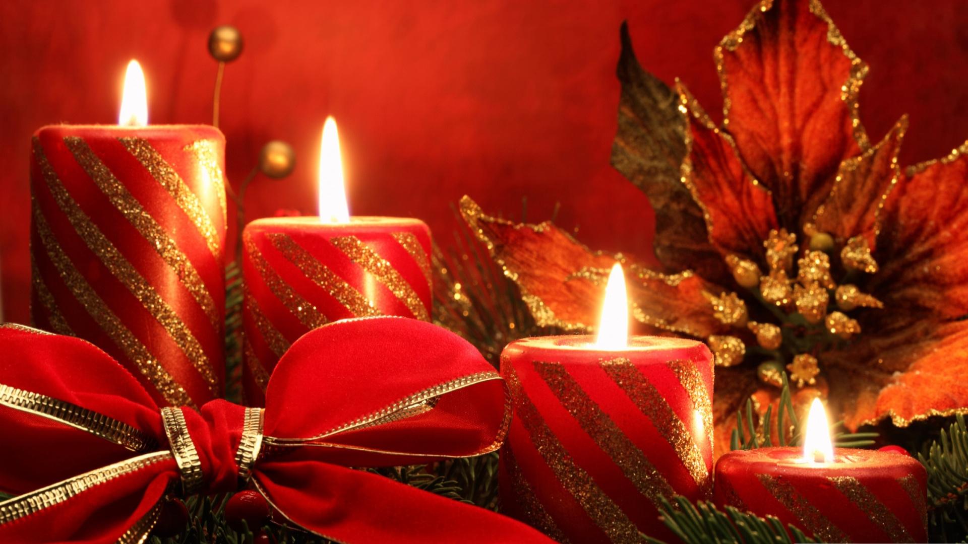 Новогодние свечи картинки красивые