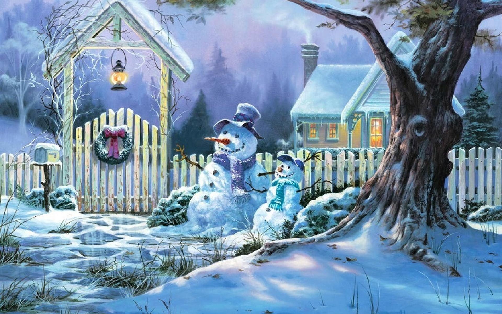 Картинки о зиме о новом годе