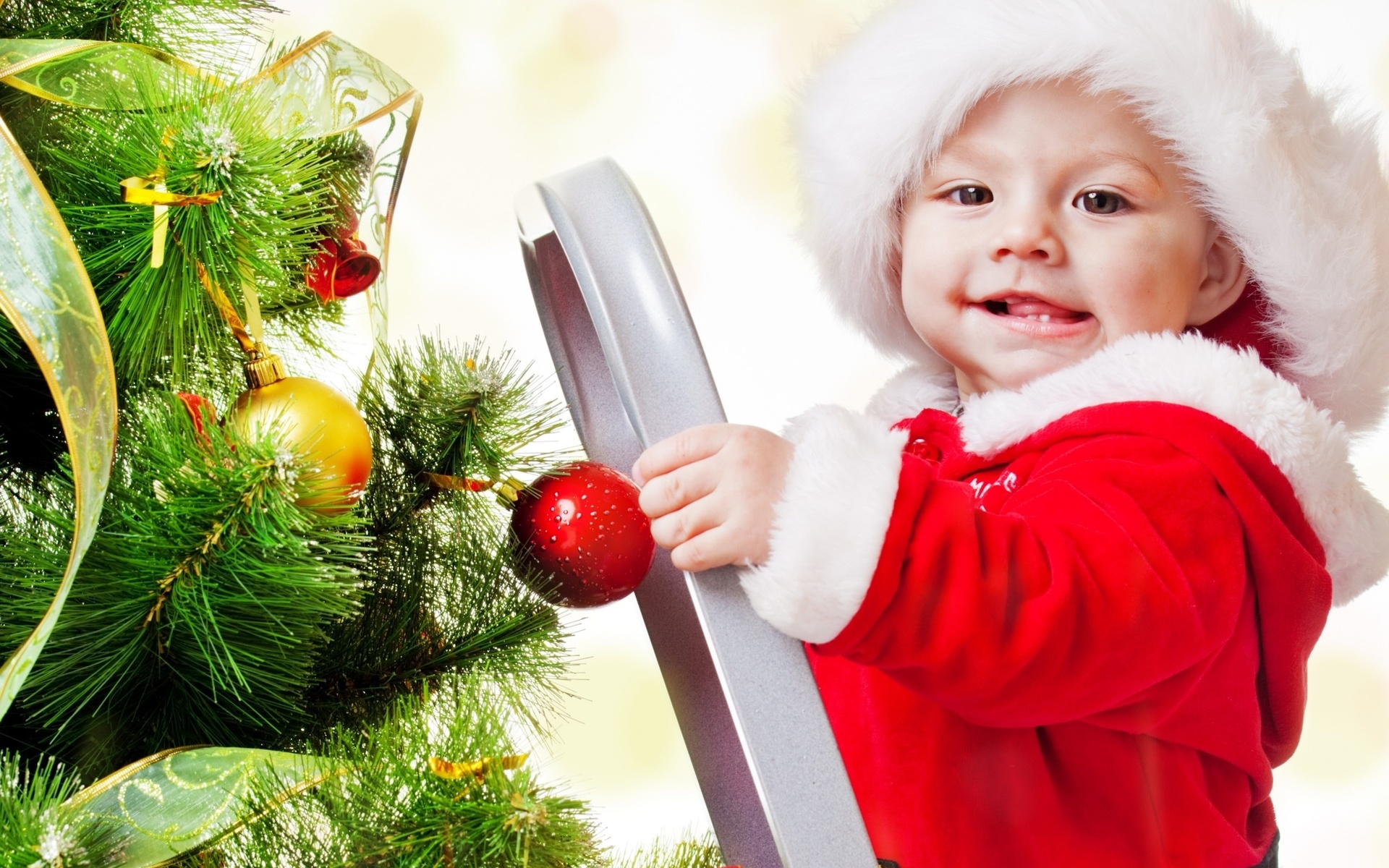 Картинки спряталась, новый год дети картинки