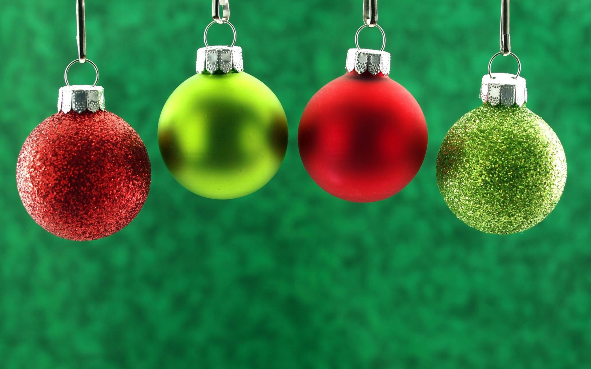 new year, christmas, новый год, рождество, шарики, красные, зеленые, игрушки, елочные, декорации, фон, праздники, зима