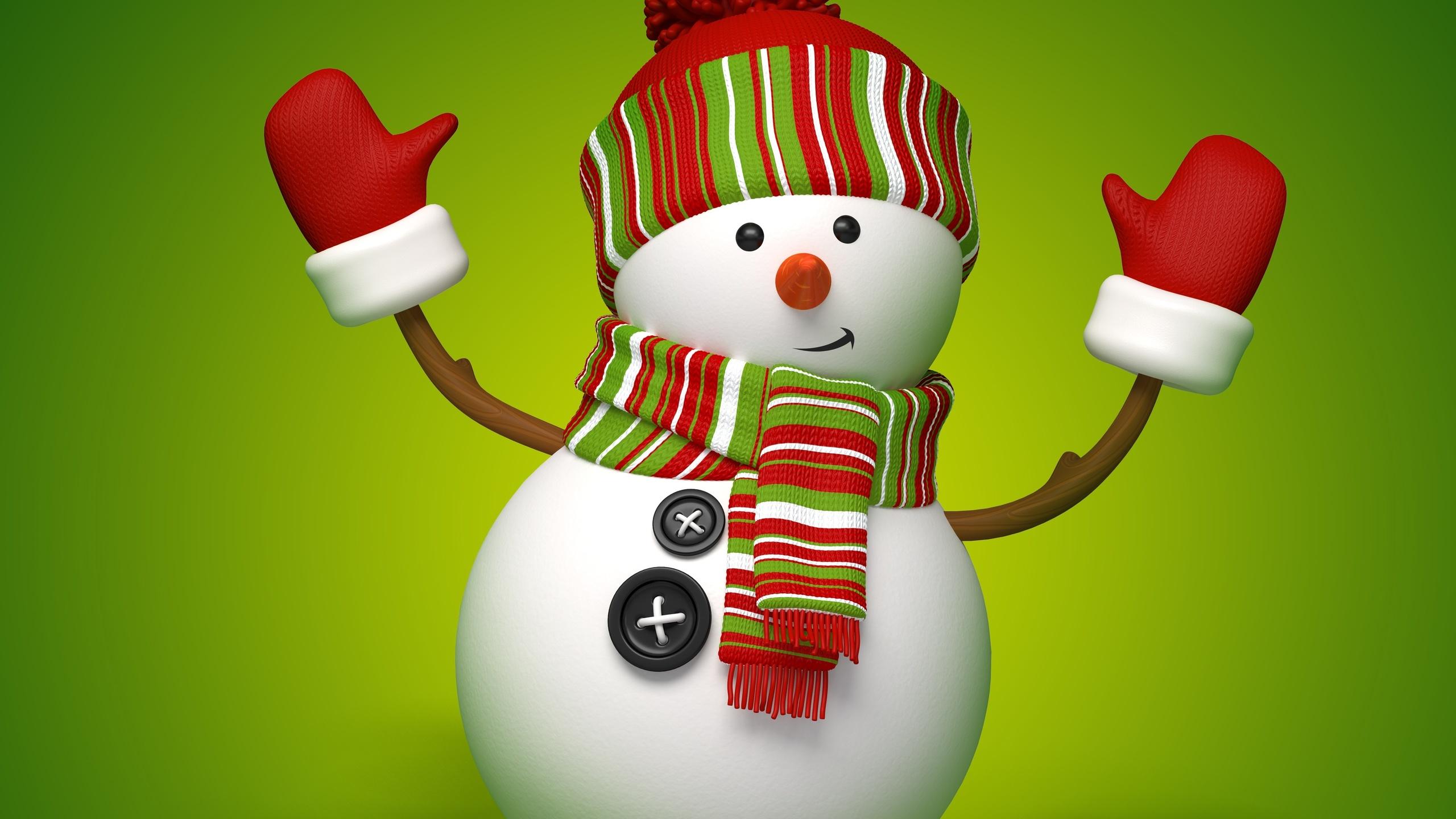 Открытка флеш, картинка с новым годом снеговик