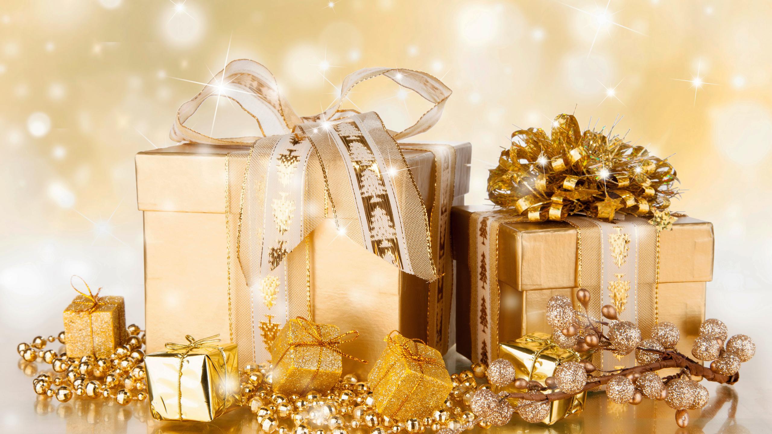 Картинки новогодние подарки коробки