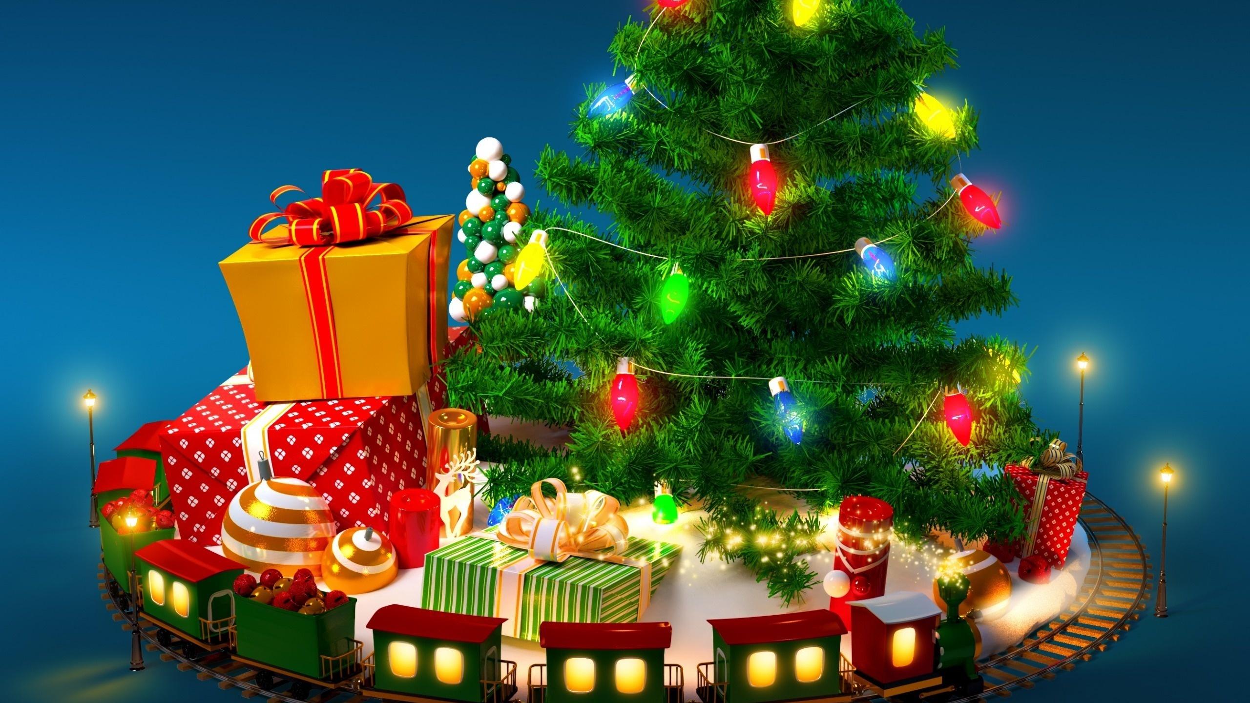 Картинки с новым годом с елкой