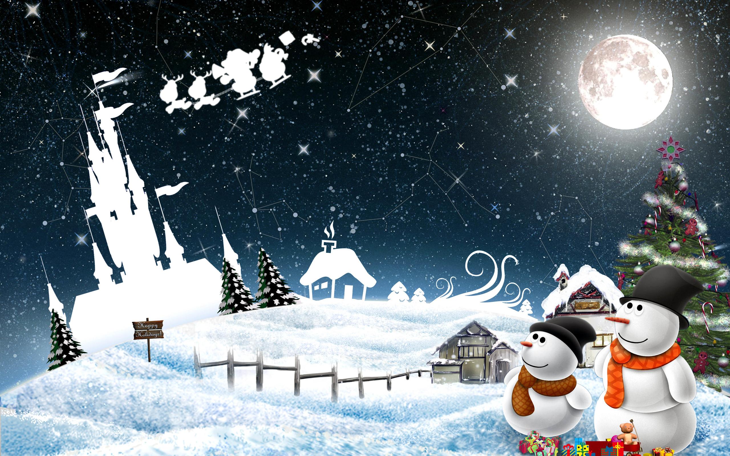Новым, открытки зима новый год 2019