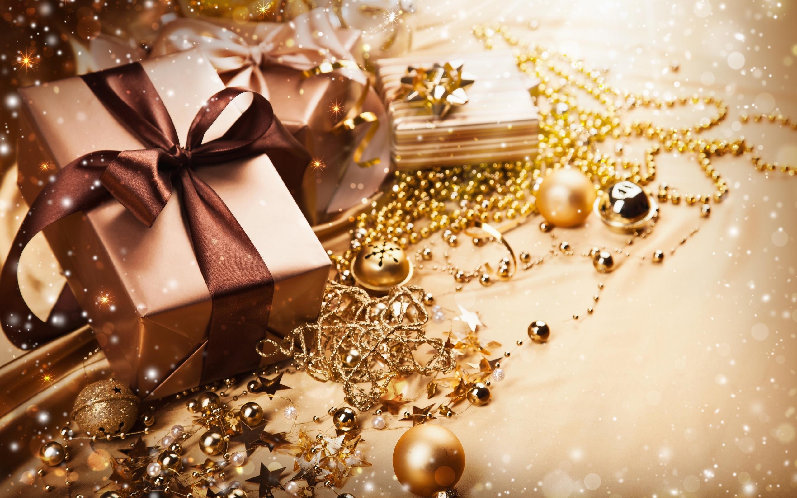Картинка подарочные новогодние