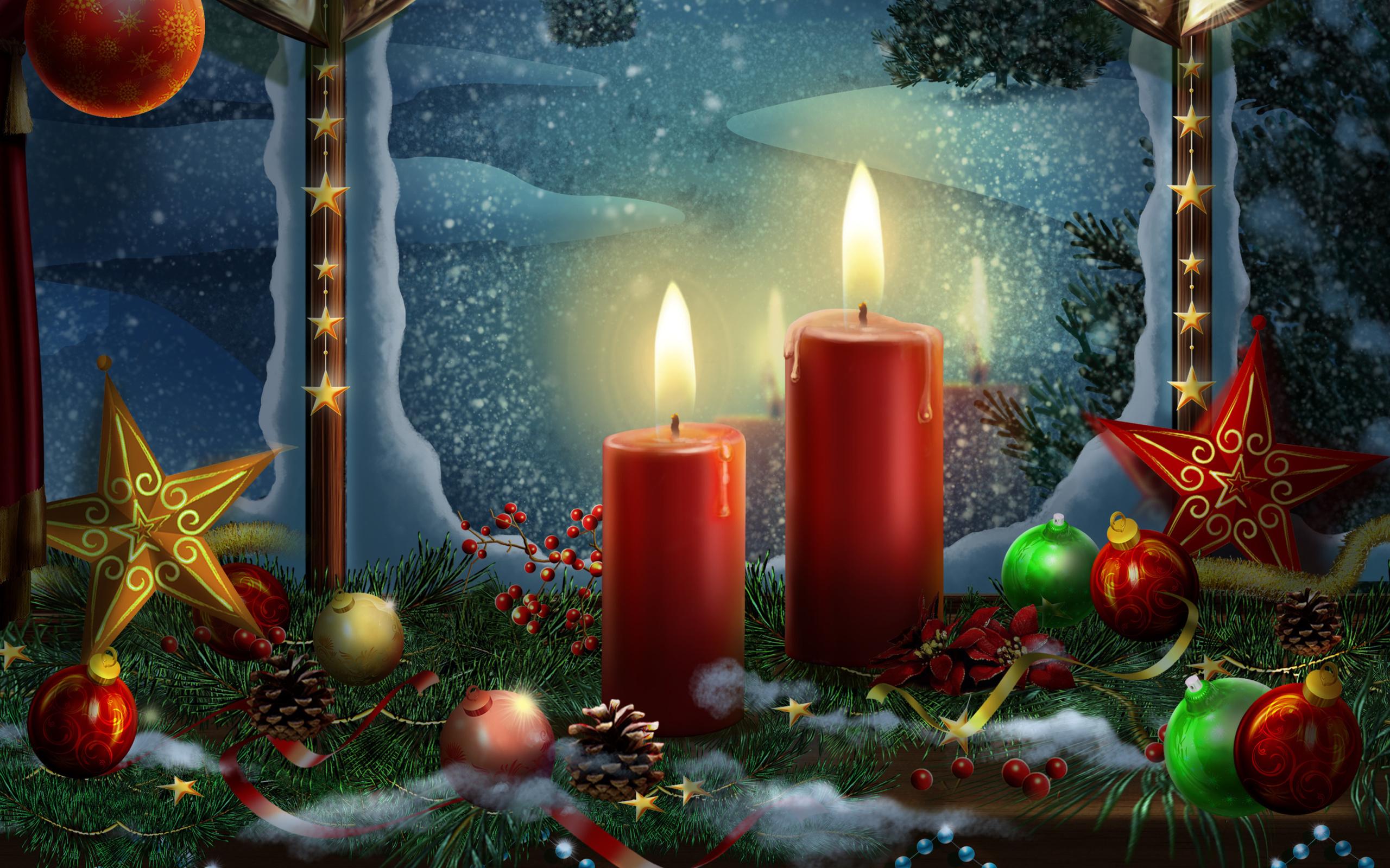 Волшебная открытка с новым годом, пятница вечер день