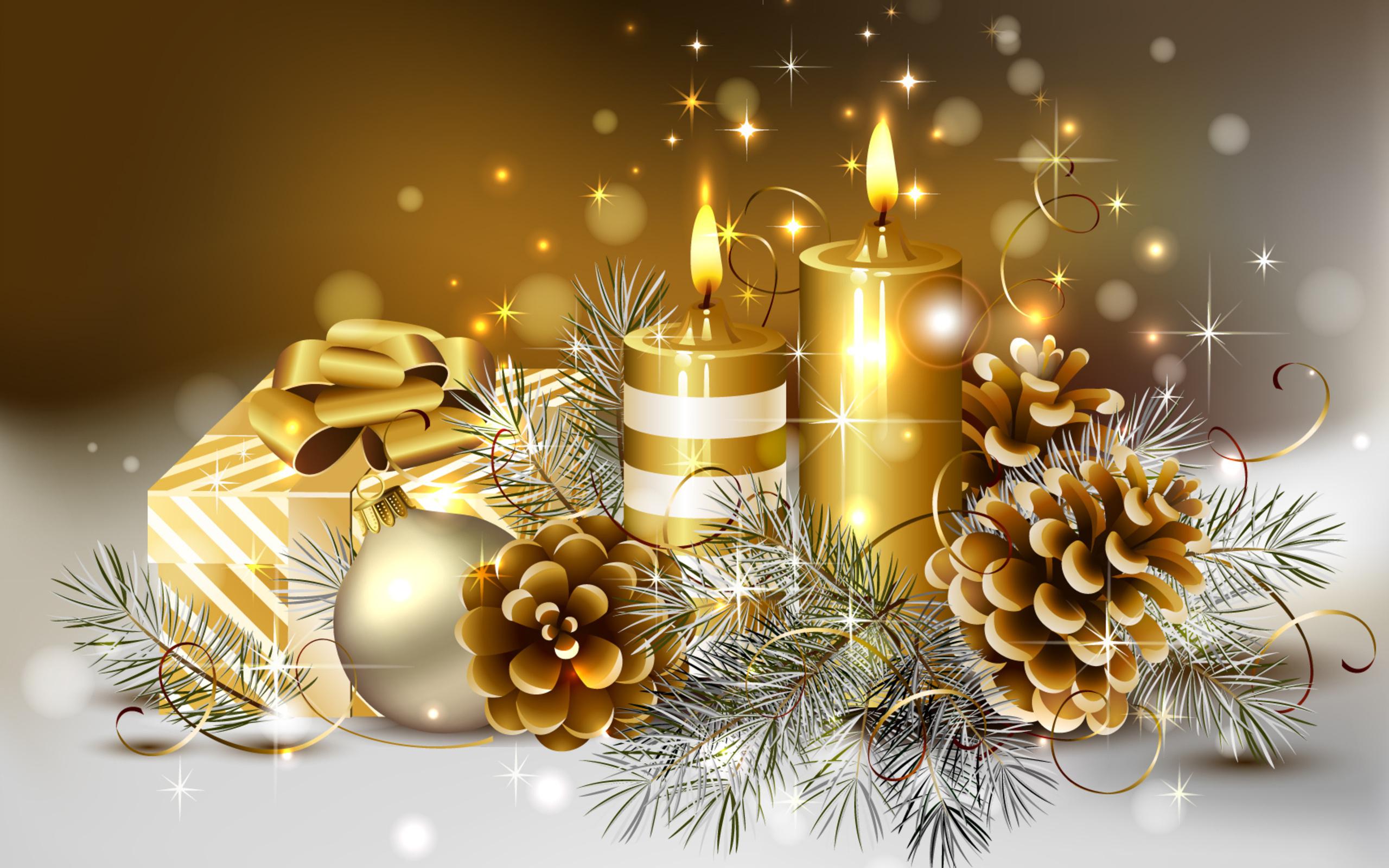 Красива новогодняя открытка
