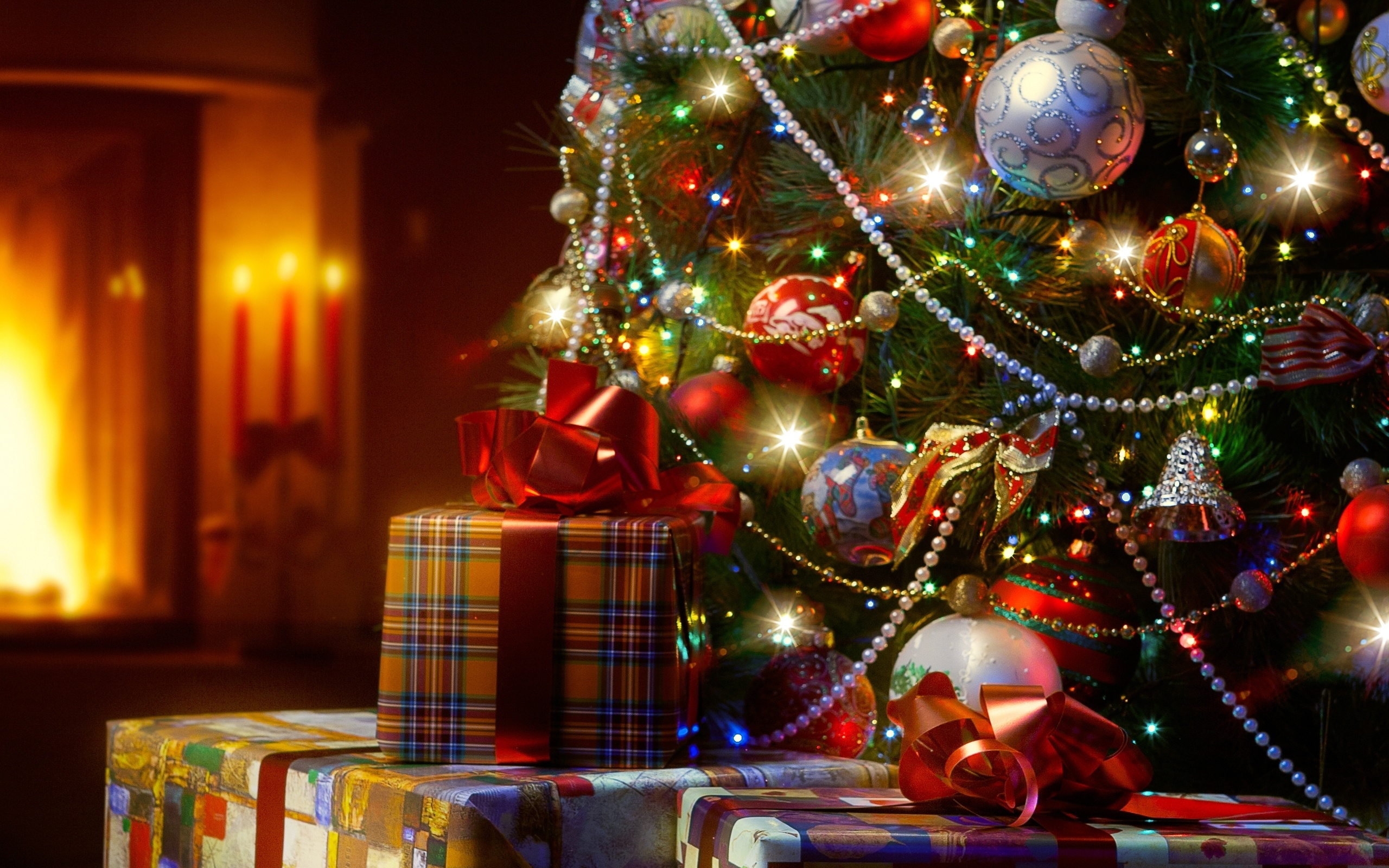 Картинки для, с новым годом картинки елка подарки