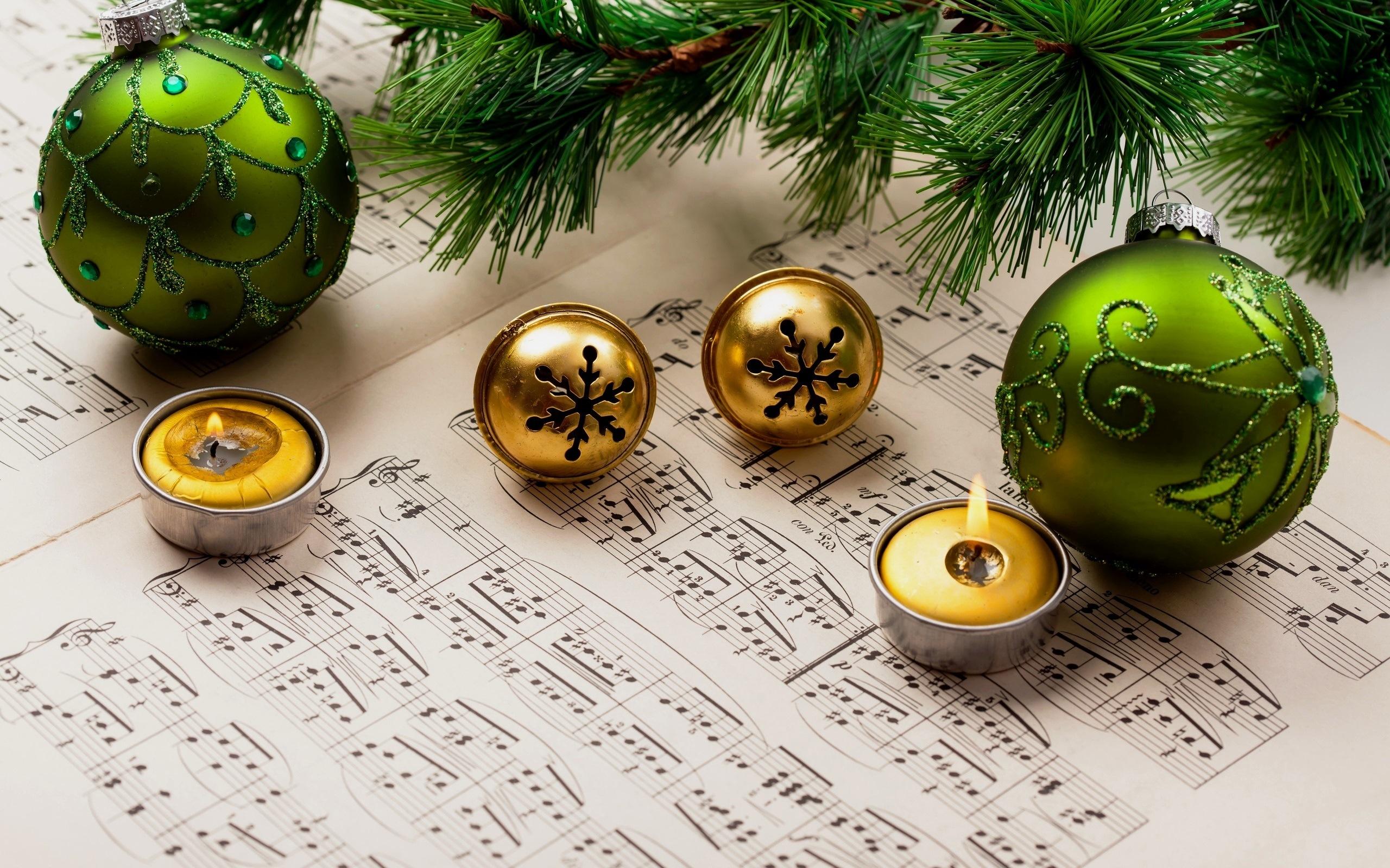 Музыка открытки новогодние