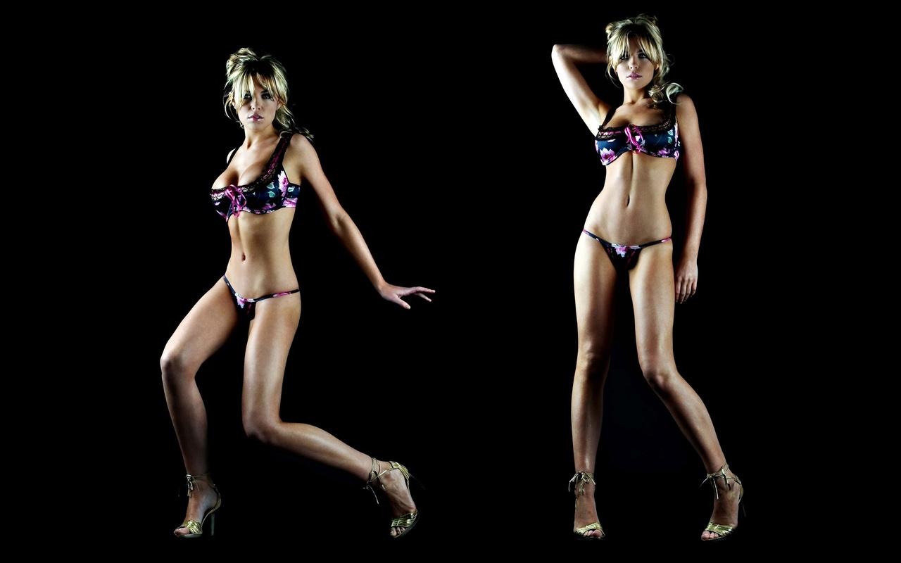 abigail, clancy, brunette, lingerie, девушка, модель, фигура, секси, нижнее белье, блондинка