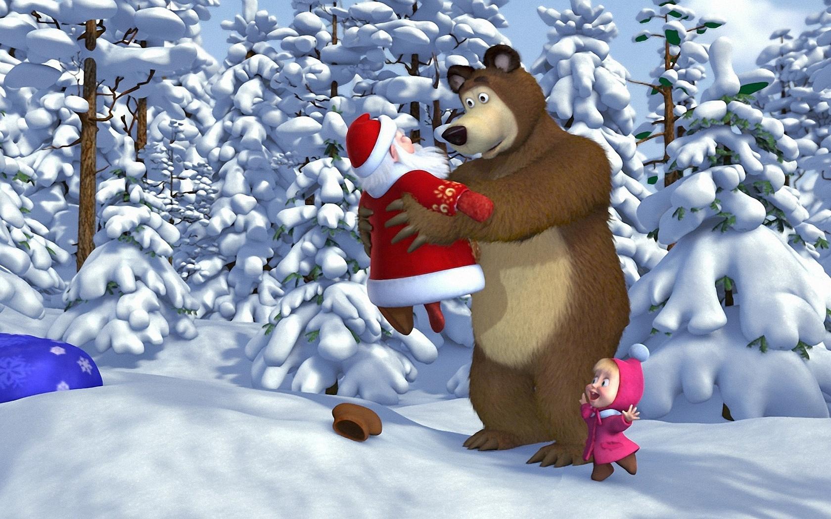 Маша и медведь новые прикольные картинки, коллегам