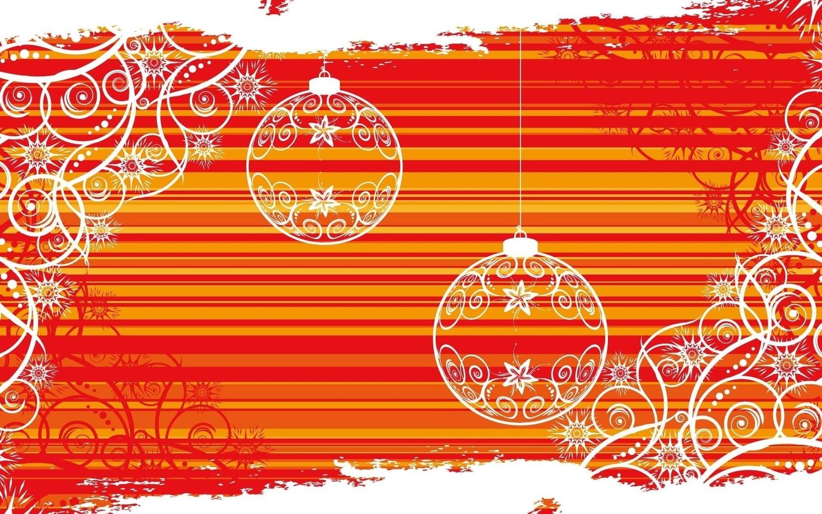 Узор для открытки на новый год