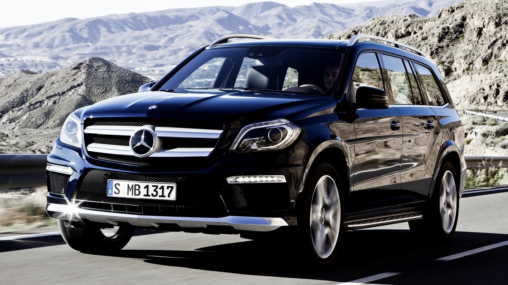джип, Mercedes-benz, гл, gl, 350, мерседес, передок, bluetec, синий