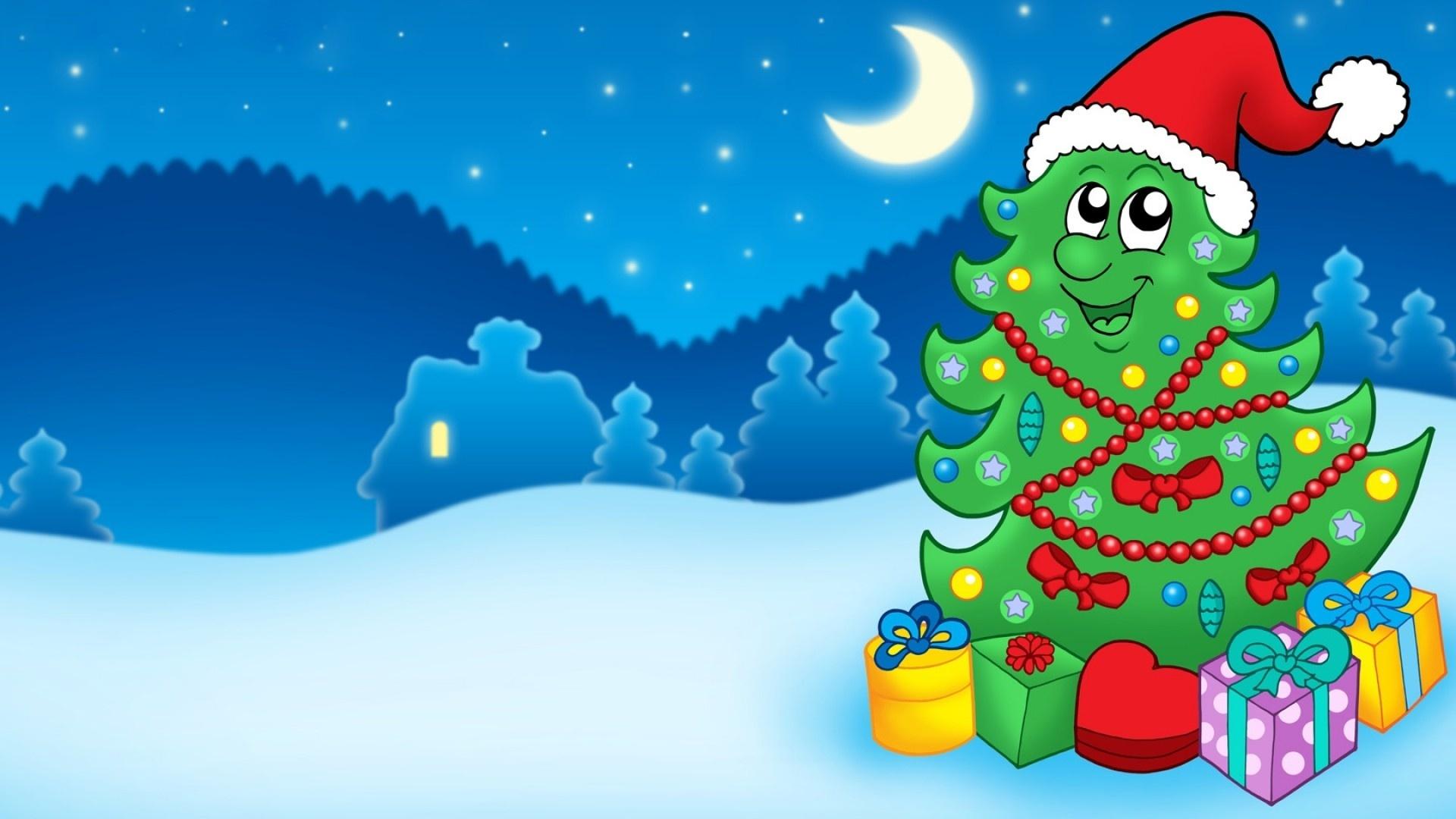 Днем, прикольная новогодняя елка картинки