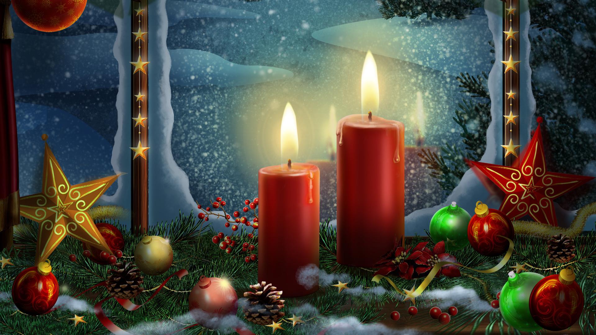 Анимация рождественские картинки