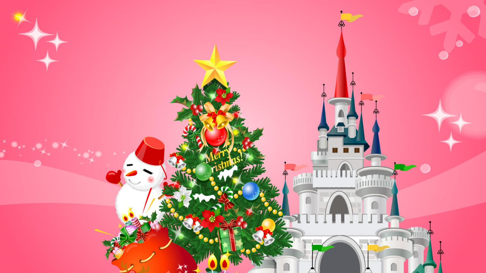 Открытки февраля, открытка с новым годом сказка замок