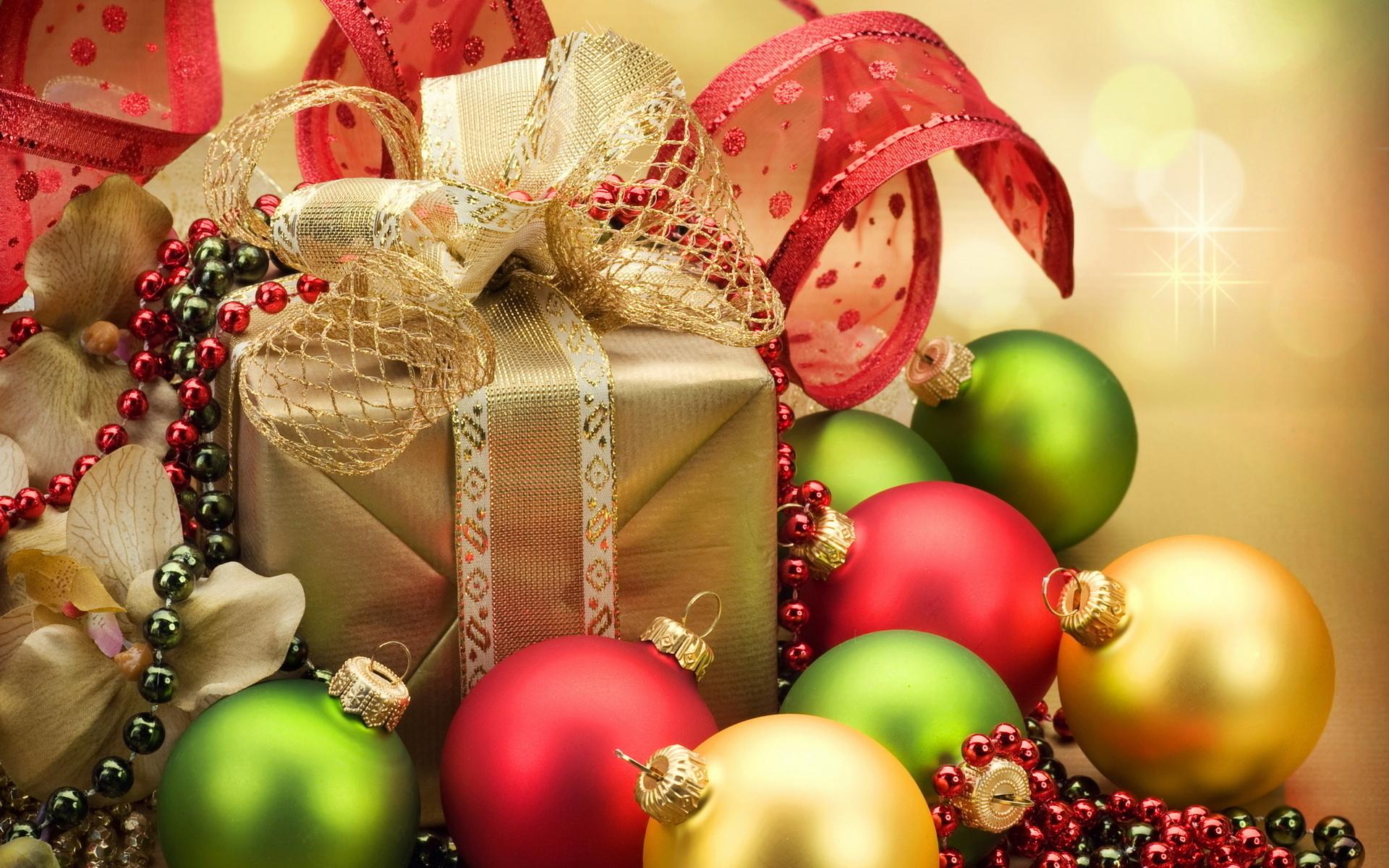 шары, подарки, новый год, бижутерия,бусы,коробочки,лента