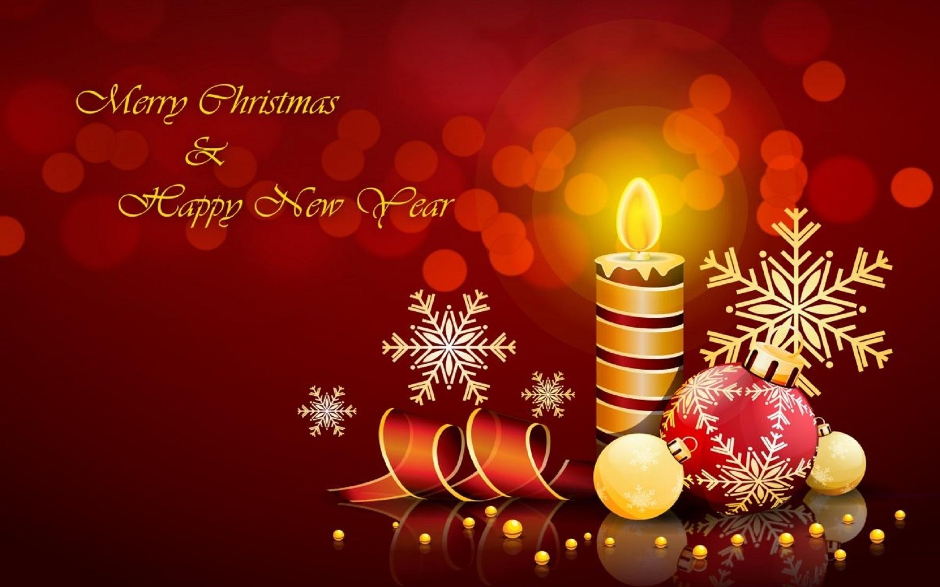 Смешные, красивые открытки с рождеством и новым 2017 годом