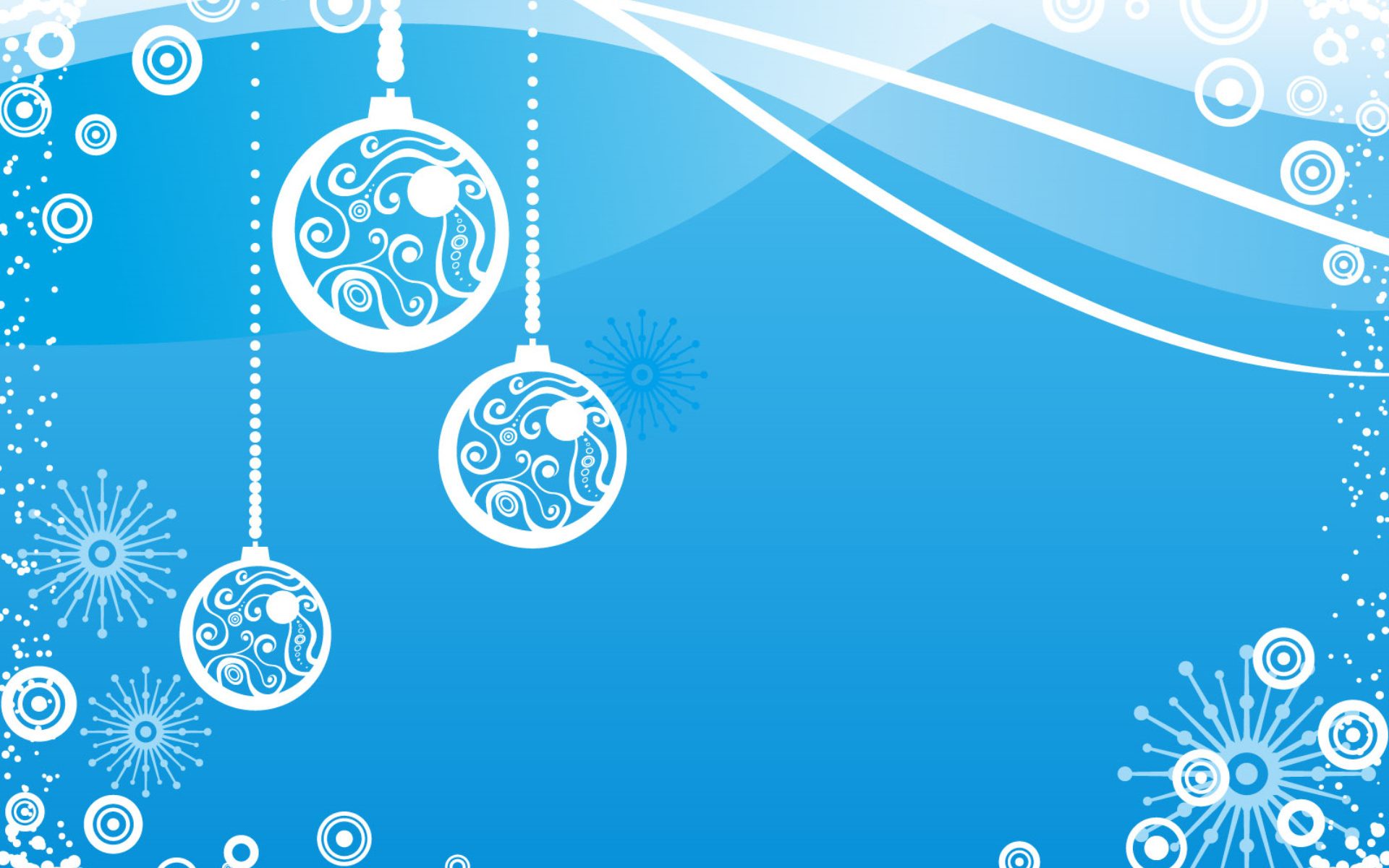 Горизонтальные новогодние открытки