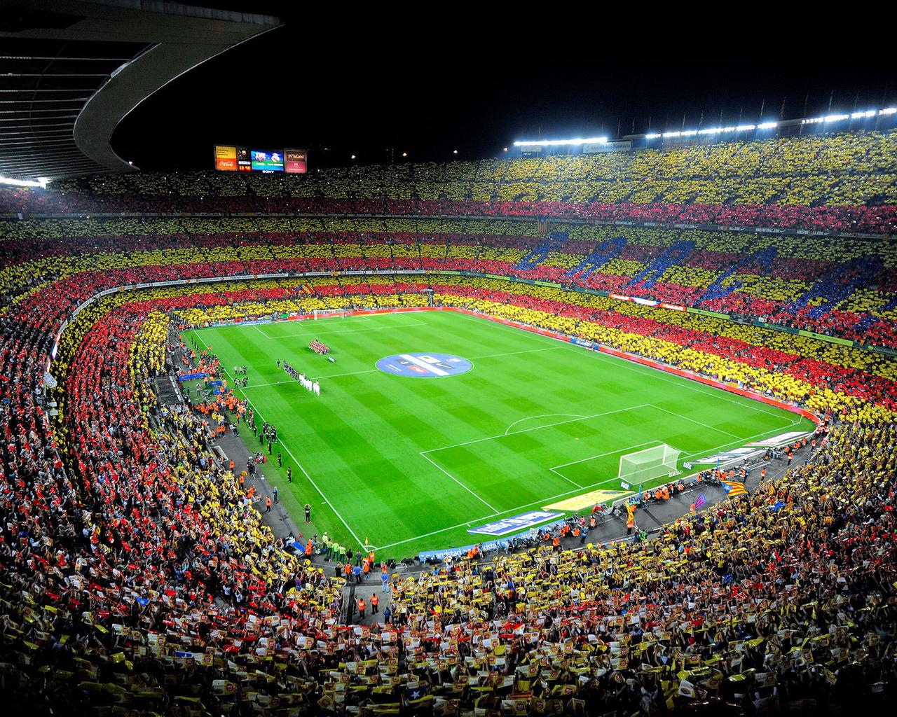 camp nou, испания, камп ноу, fc barcelona, барселона, стадион, люди, футбол