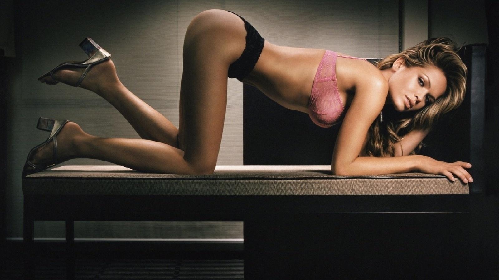 девушка, модель, нижнее белье