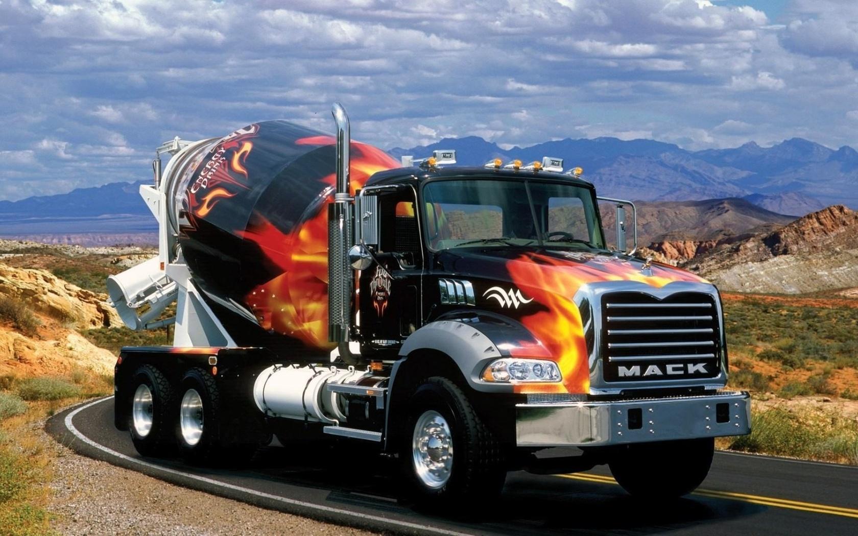 Открытки машины грузовые