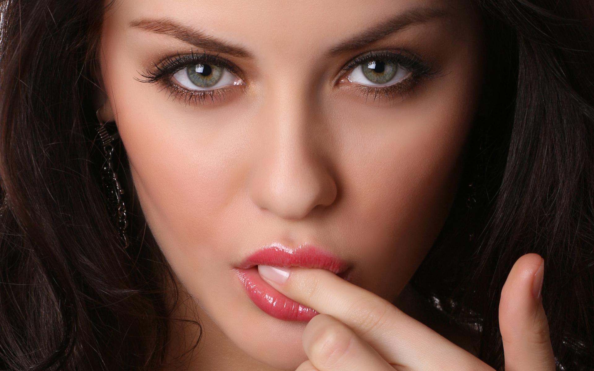 Фон, картинки красивые глаза девушки
