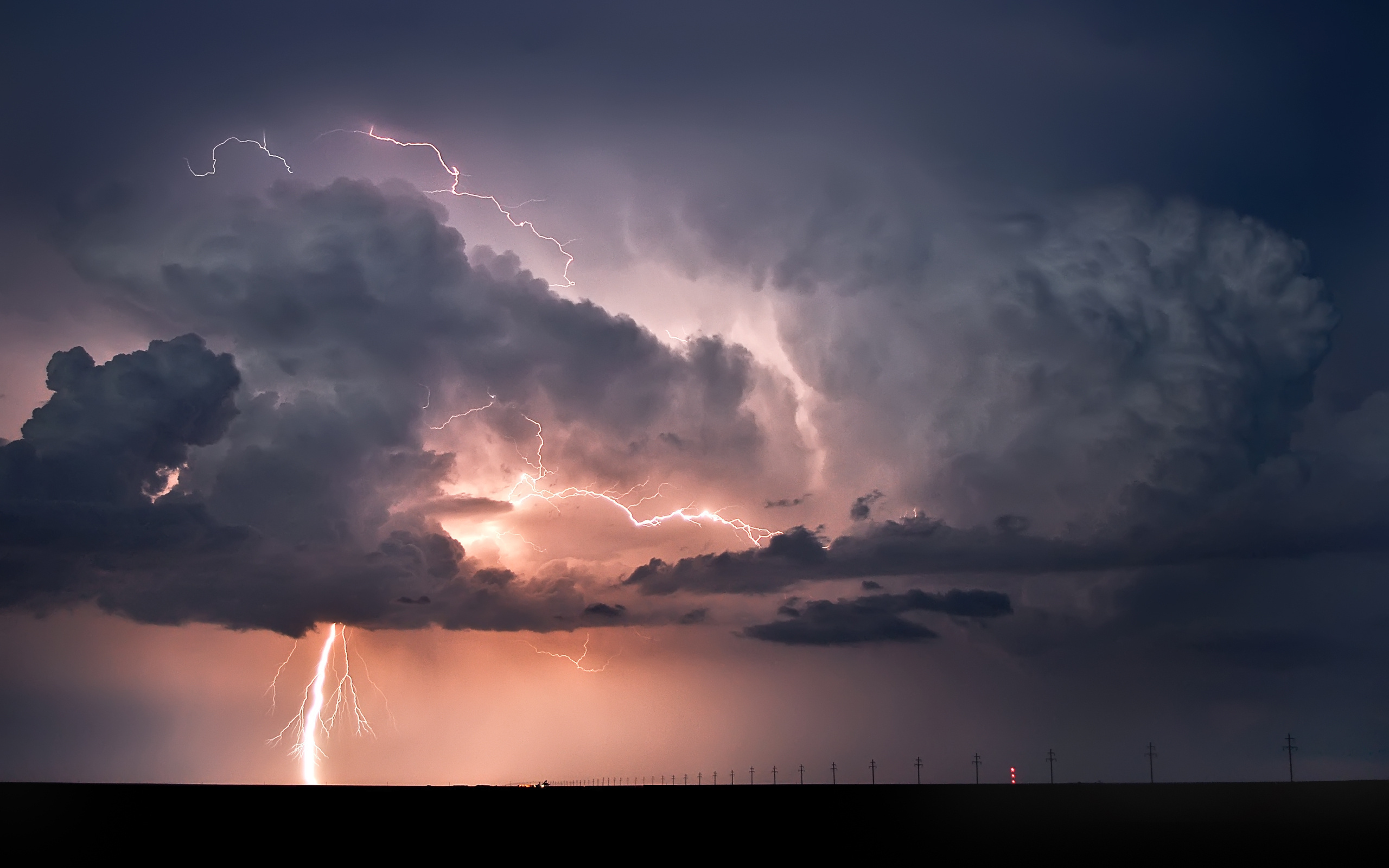 молния, природа, стихия, небо, облака, фон, 1000000000 вольт, 400000 а
