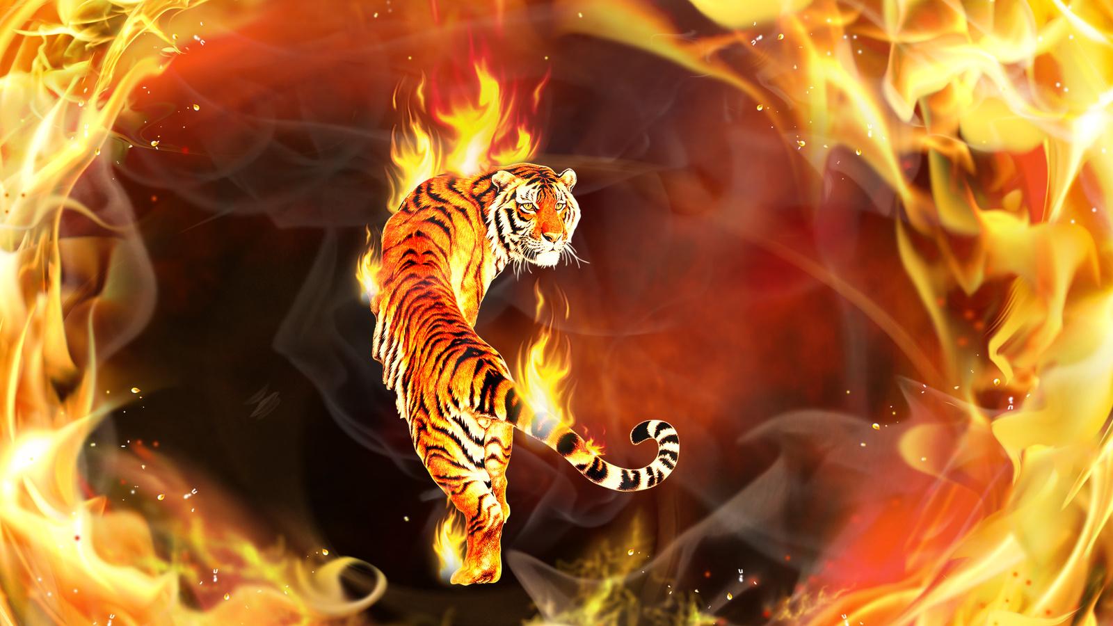 Прикольные картинки для обоев на телефон животные огненные